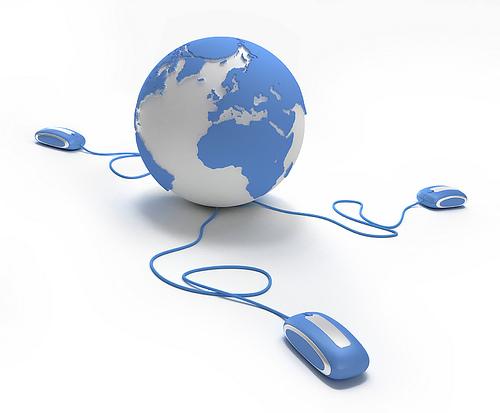 Социальная сеть Интернет, Голубая Поанета, Земной Шар, Всемирная Паутина, Планета Земля