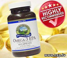 Omega 3 EPA - Омега 3 Рыбий Жир Рекомендуем Здоровье Биологически Активные Добавки к пище - БАД Nature's Sunshine Products - NSP Лекарственные Растения Лечебные Травы