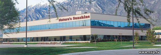 Качество продукции Nature's Sunshine Products - NSP Технологии производства Стандарты Качества Здание Завод Офис Америка Штат Юта